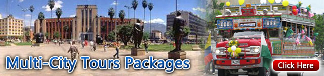 colombia multi-city tour packages and vacations